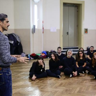 Workshop con l'attore Massimiliano Varrese